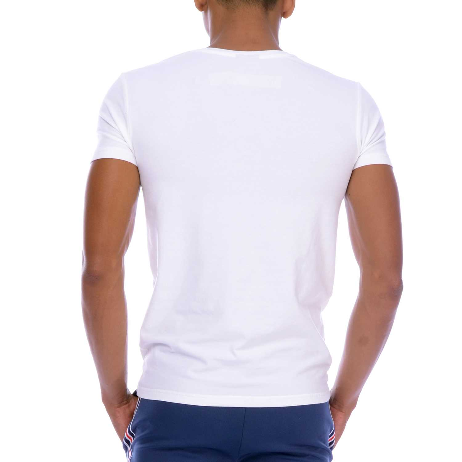 Body Wear Custom Fit V Neck Tee, 1626