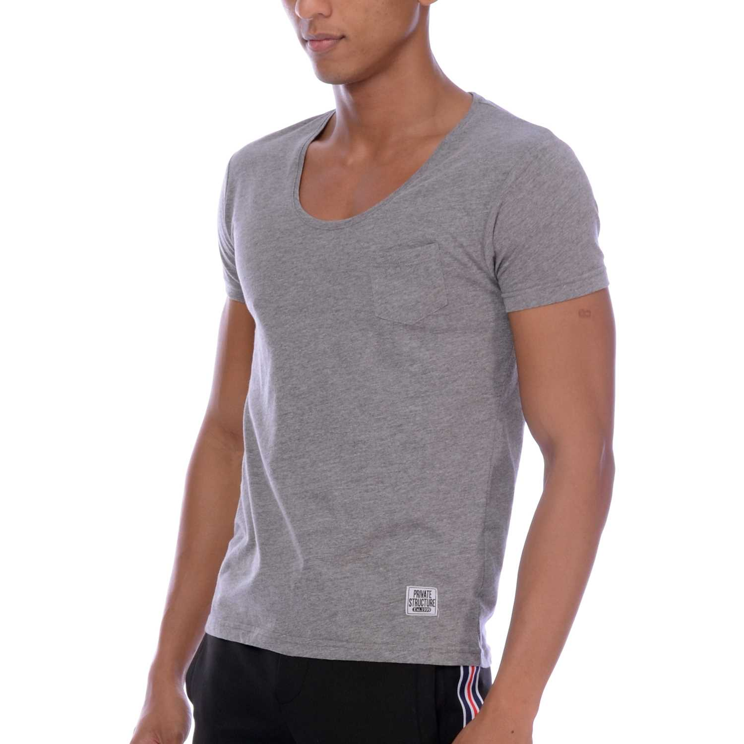 Body Wear Custom Fit Crew Neck Tee, 1664