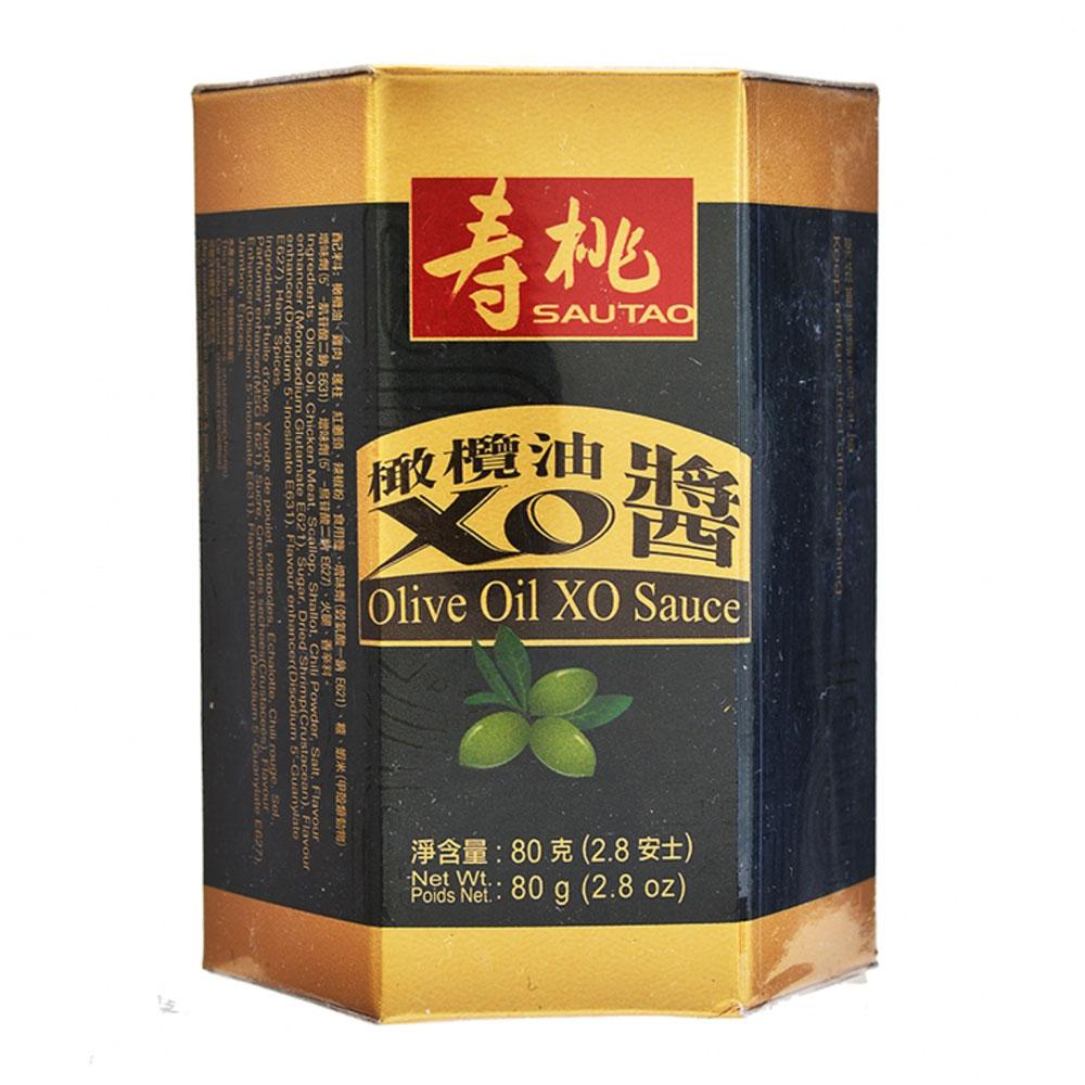 壽桃牌江瑤柱至尊XO醬 80克