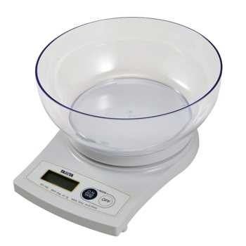 TANITA Digital Food Scale with Bowl KD-160