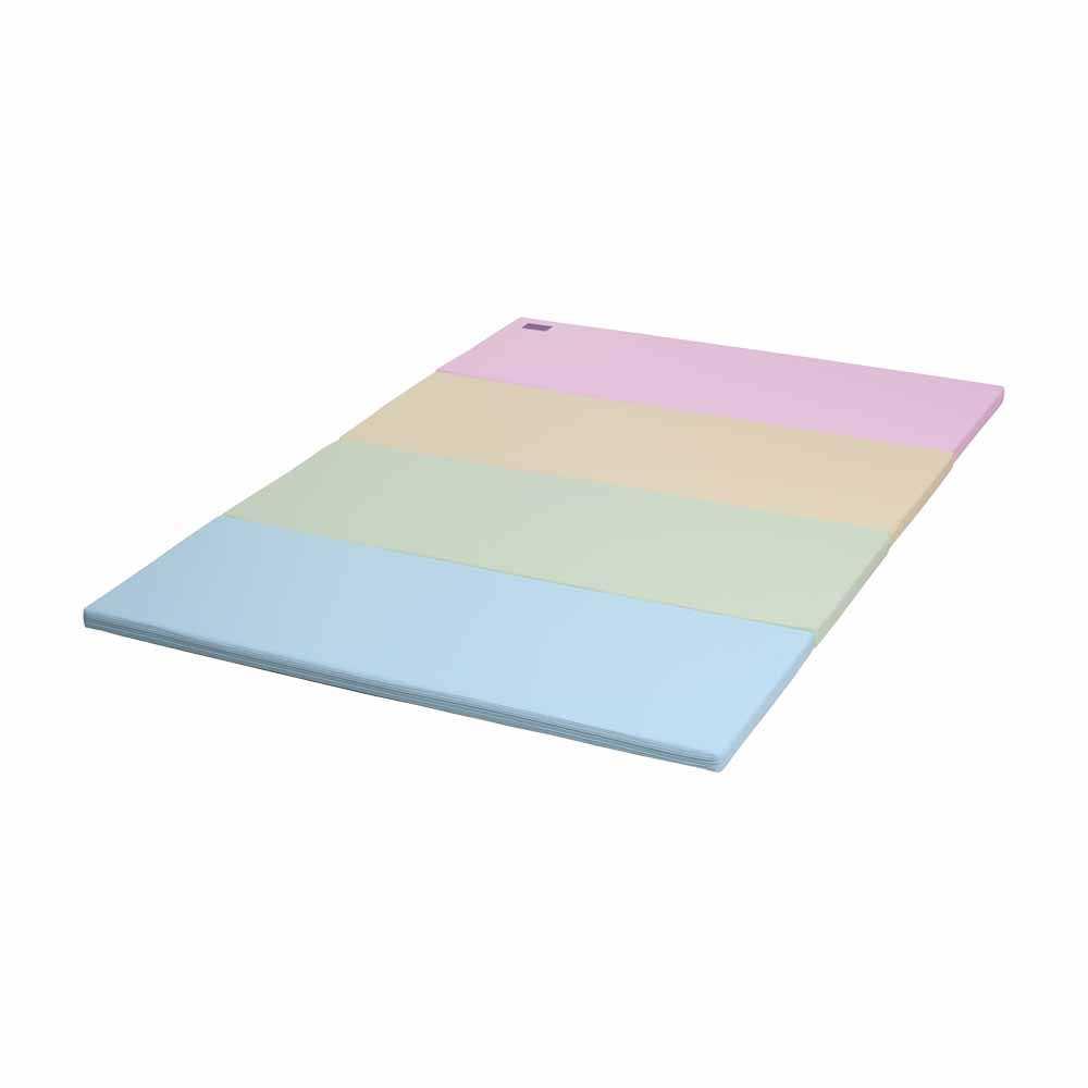 Caraz W4加厚摺摺地墊C01W4002(粉彩色)