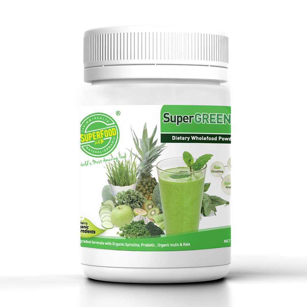 超級蔬果鹼性綠粉270克(加強配方)
