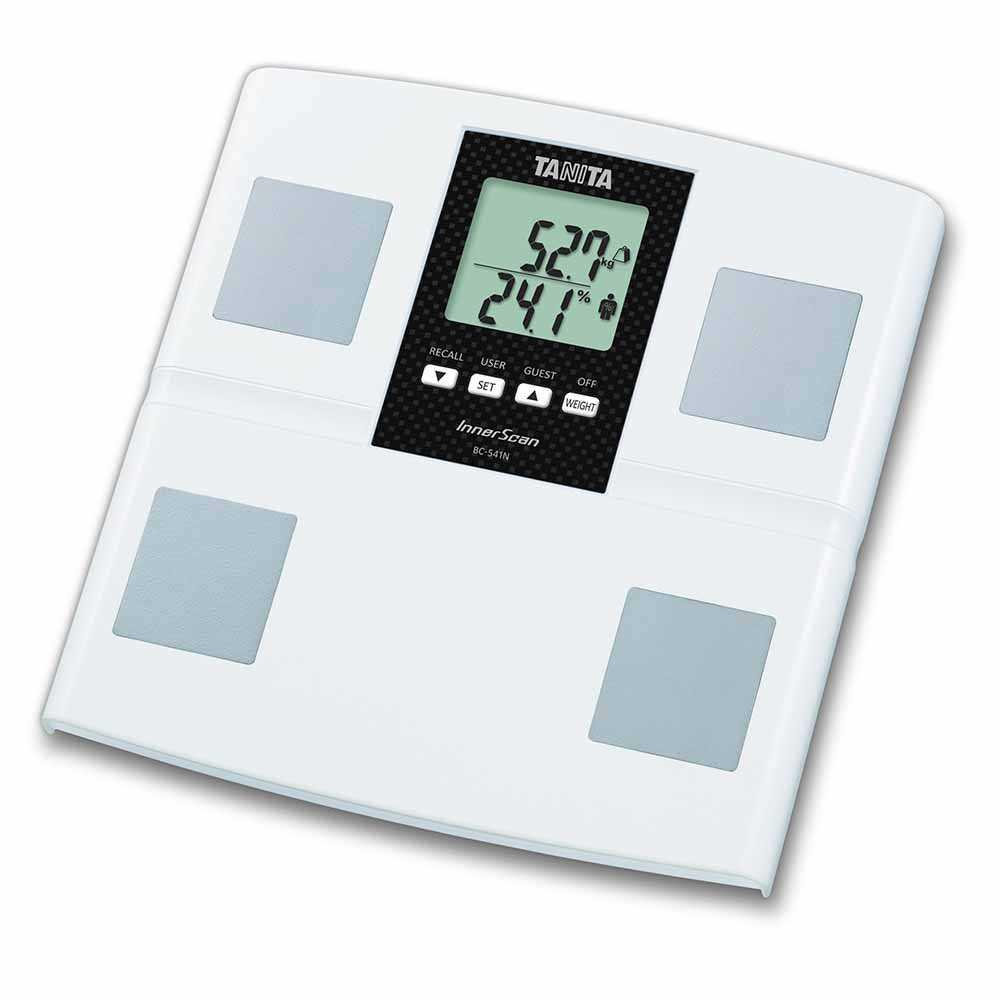 TANITA電子體重脂肪磅BC-541N(白色)