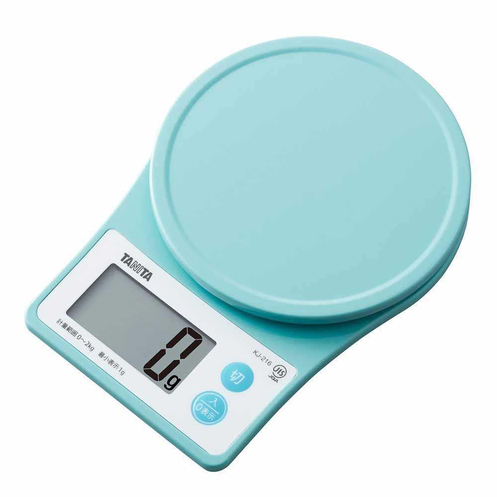 日本 Tanita 電子廚房磅KJ216(藍色)