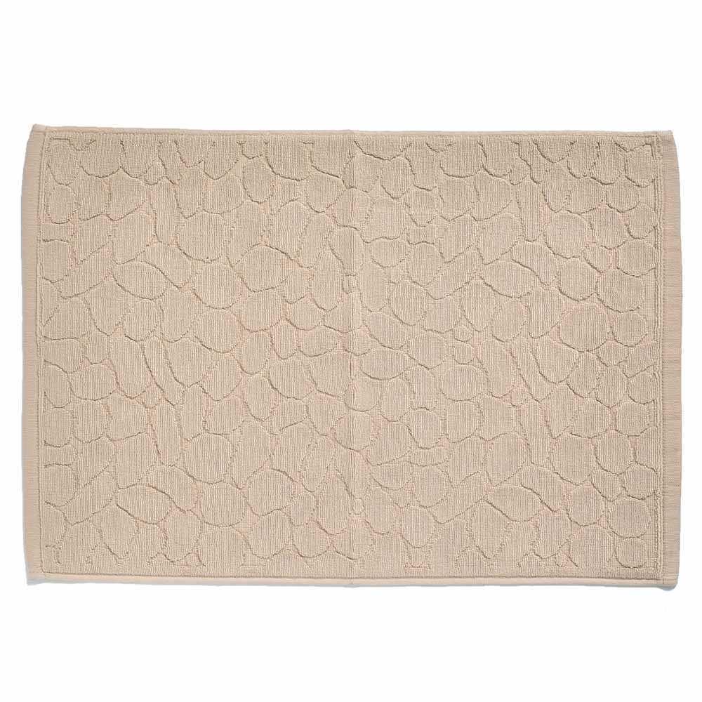 Terry Cotton 純棉淨色地巾40x60cm(卡其色)