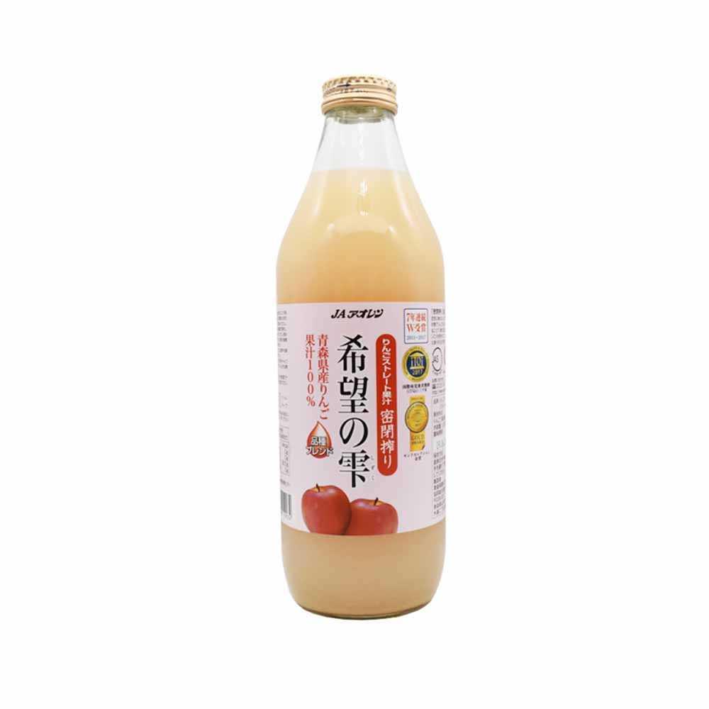 青森JA希望之雫蘋果汁1公升
