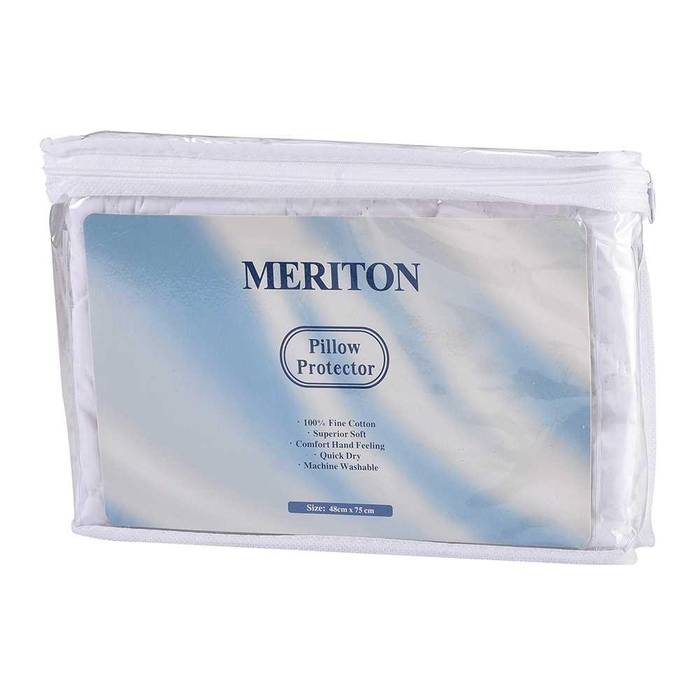Meriton 100%全綿枕墊