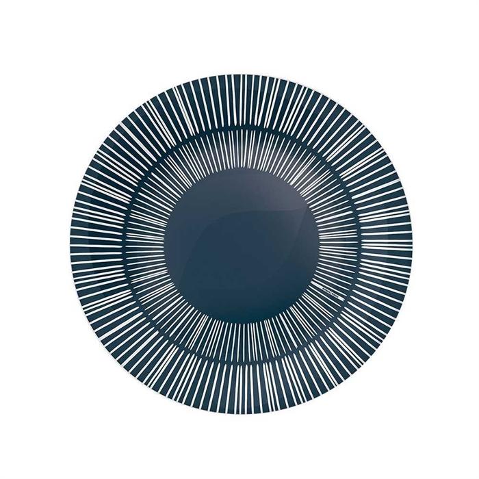 Rocco Stria Grey Plate 27cm 430133FP2121428
