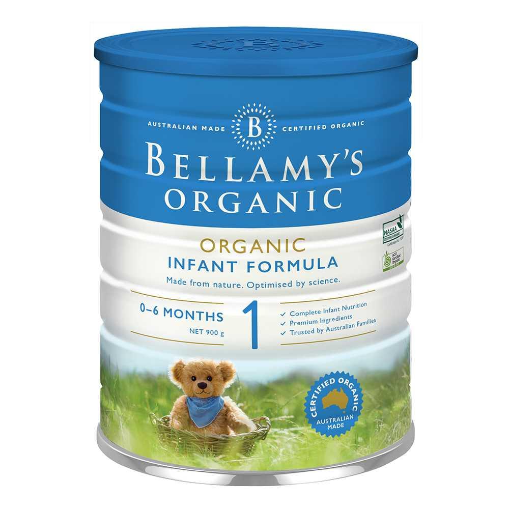 Bellamy Step 1 Infant Formula 900g