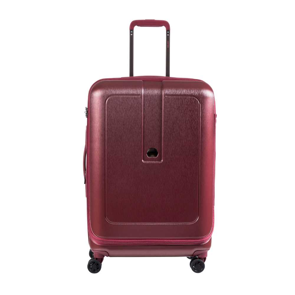 Delsey Grenelle 4 Double Wheels & Expandable Trolley Case 30''-Red