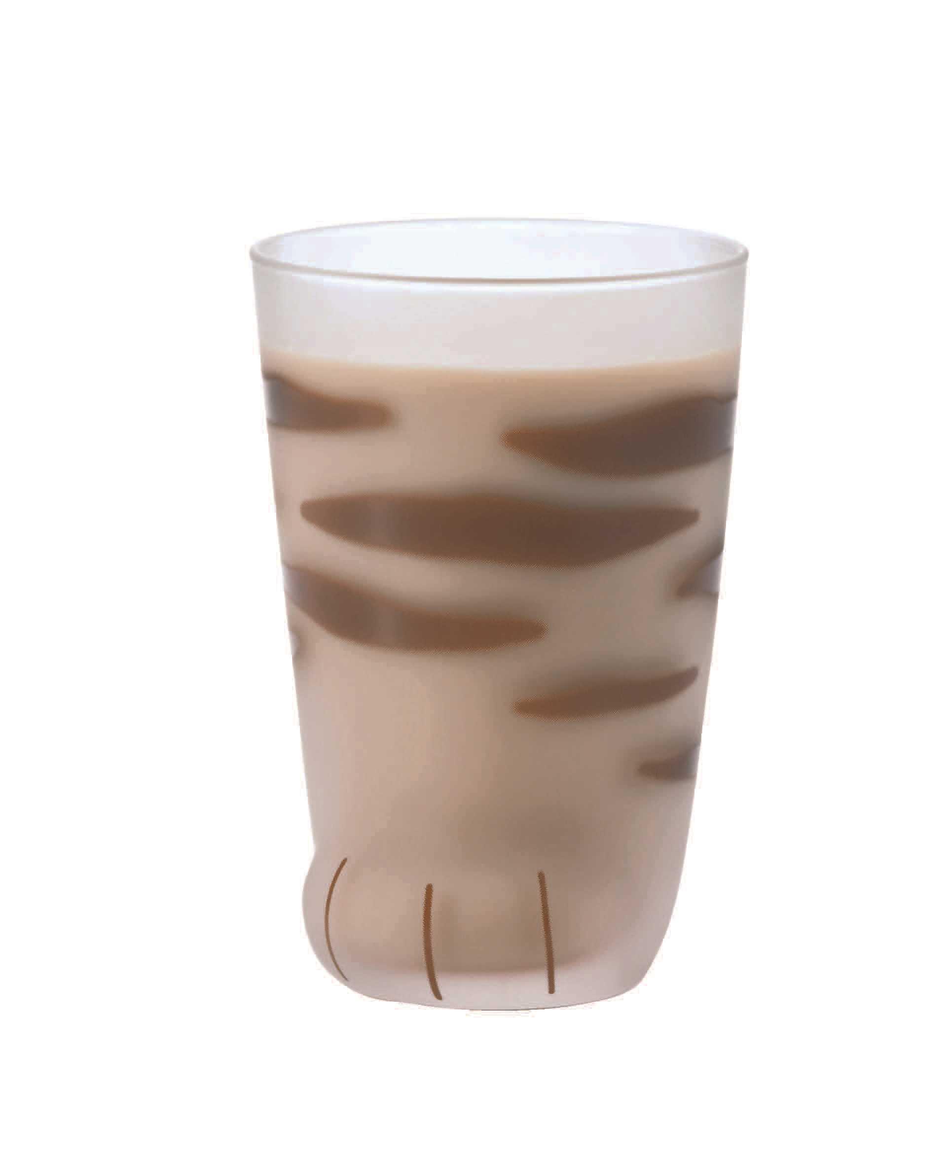 Aderia Coconeco系列貓腳玻璃杯300ml(老虎紋)6680