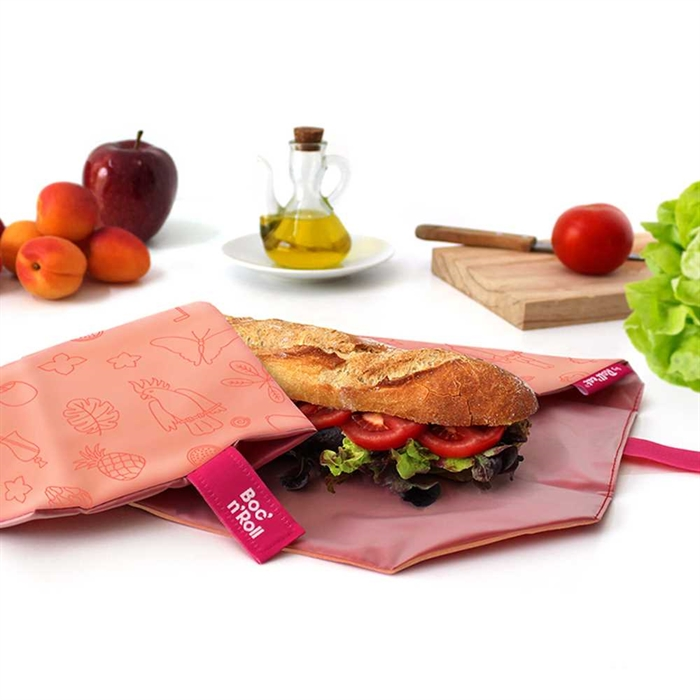 環保食物布畫布系列(紅鶴)