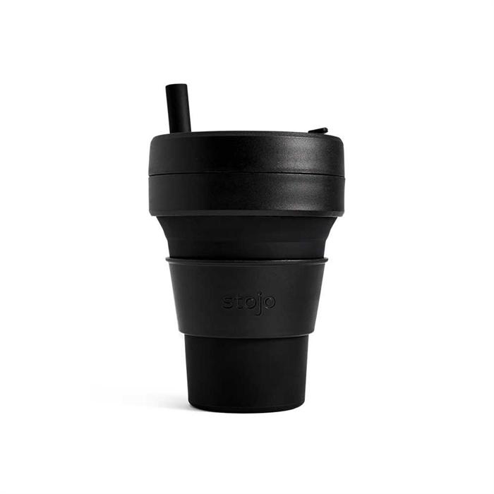Stojo折迭随行杯470毫升(黑色)S2-INK