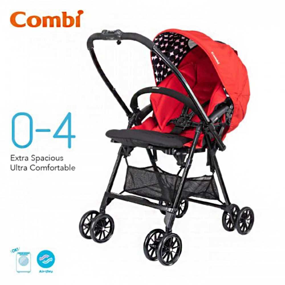 Combi Neyo Plus Stroller 117339-Red