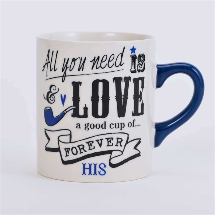 Lovers series mug - Blue