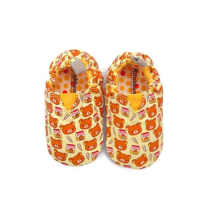 JPLUSJ 鬆餅鬆弛熊學步鞋RKS303Y(黃色)