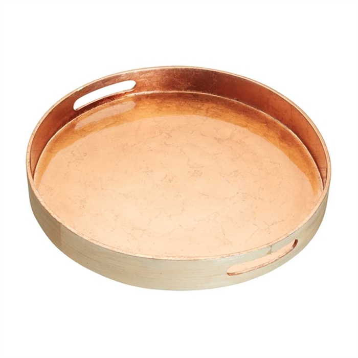 Kitchencraft Artesà Copper Lac. Bamboo Serving Tray