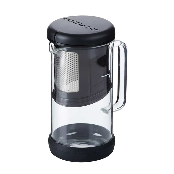 Barista & Co. OneBrew Coffee and Tea Infuser(Black)