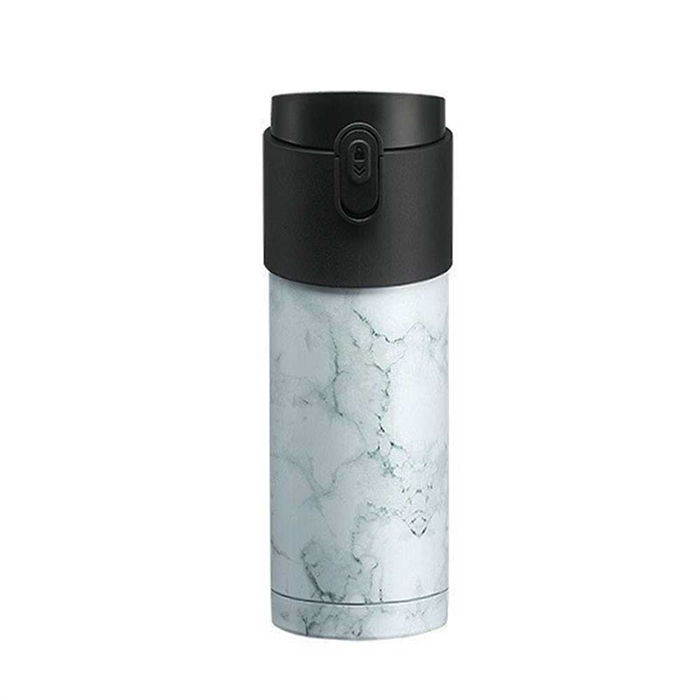 PO: Pao Thermo Mug 350ml POC202723-W.Marble + Black