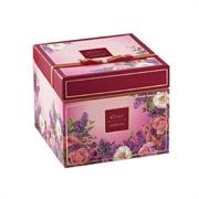 Taiwan Rivon Handmade Cookies 663g-Flora 3 Layers Box