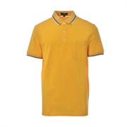 Montagut Classic Fit Cotton Polo Shirt TSS1111535-Yellow