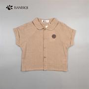 班比奇新款男童衬衫00938