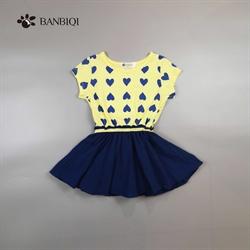 班比奇新款女童连衣裙00814
