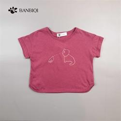 班比奇新款女童T恤00889