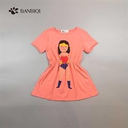 班比奇新款女童连衣裙00808