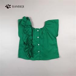 班比奇新款女童衬衫00858