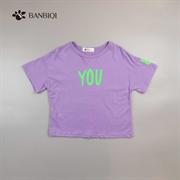 班比奇新款女童T恤00883