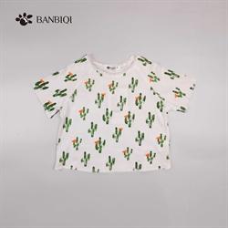 班比奇新款女童T恤00837