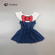 班比奇新款女童連衣裙00818