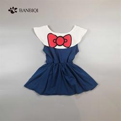 班比奇新款女童连衣裙00818