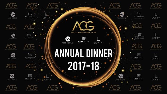 ACG Annual Dinner 2018