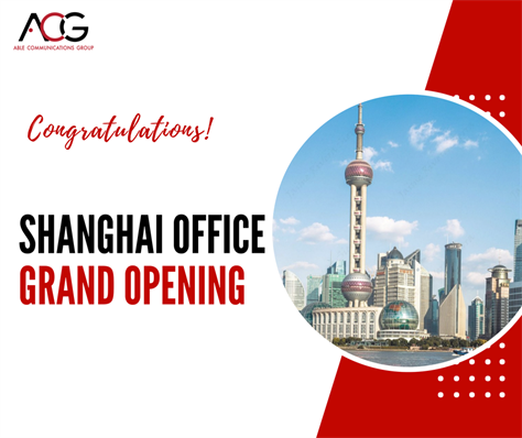 Grand Opening of Shanghai Office