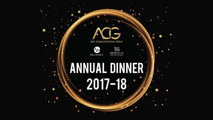 【ACG - Able Communications Group Annual Dinner 2018】