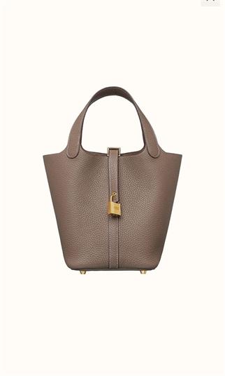 Hermes Picotin Lock 18 Bag 手挽袋 大象灰 金扣 Etuope ghw