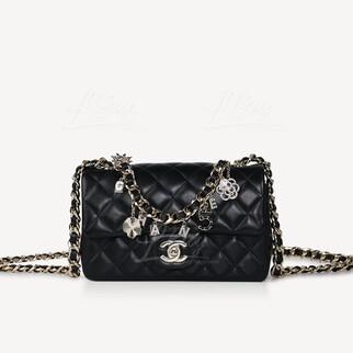 Chanel 吊飾垂蓋手袋