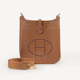 Hermes Mini Evelyne 16 Amazone Bag 金金