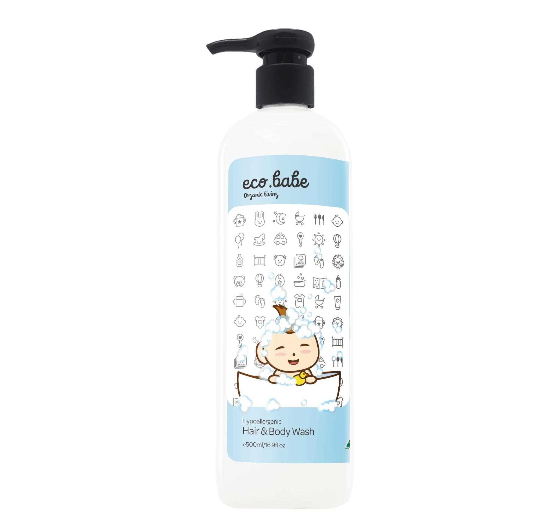 eco.babe 澳洲有机减敏洗发沐浴露(500ml)