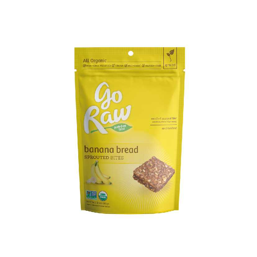 Go Raw Bannan Bread Sprouted Bites