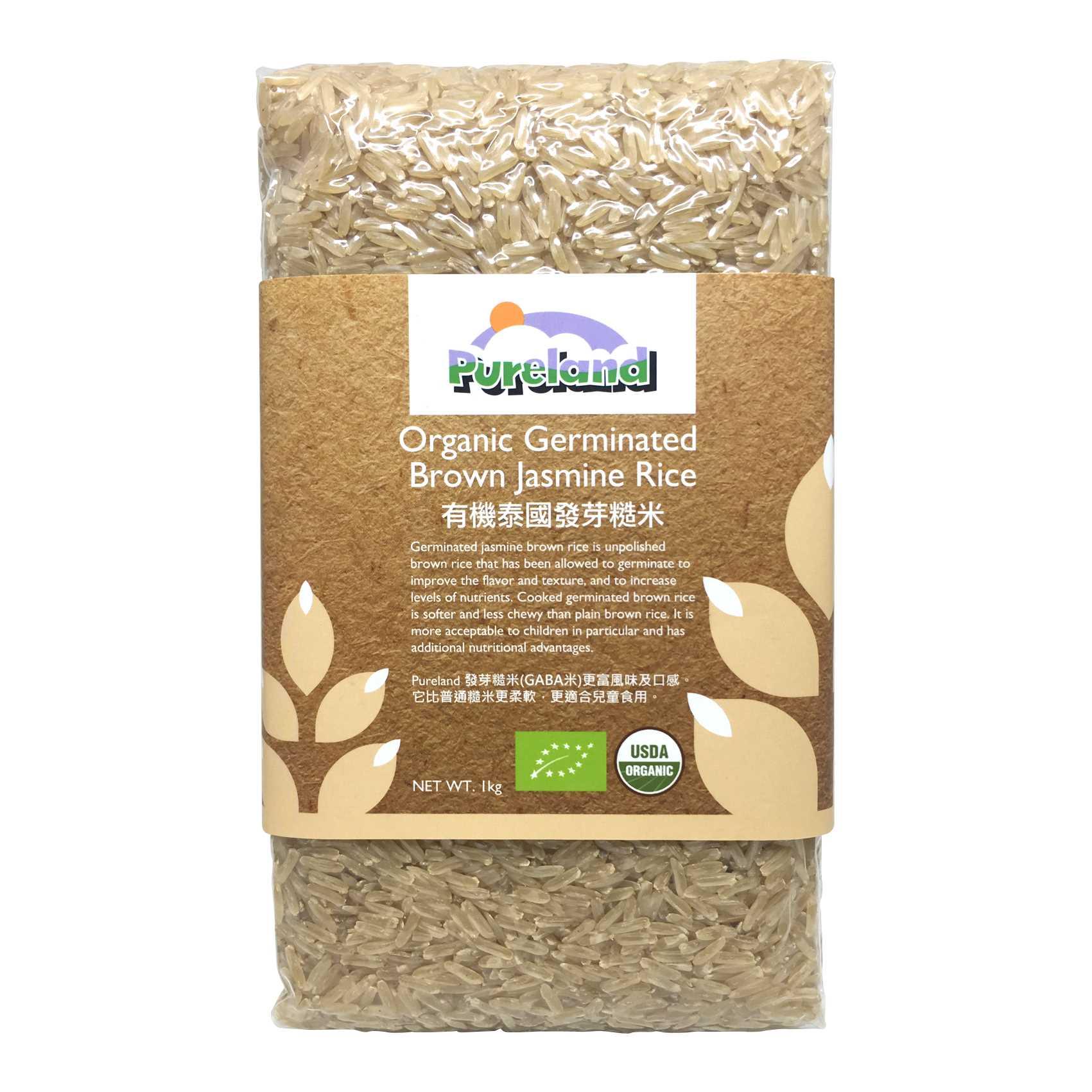 Pureland 有机泰国发芽糙米 1kg