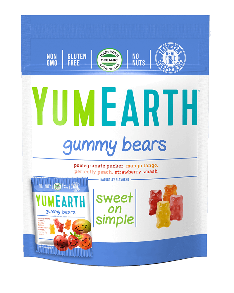 YumEarth Gummy Bears (10snack packs)