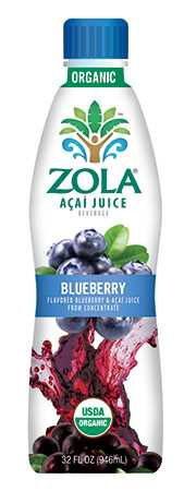Zola Acai Juice (Blueberry) 946ml