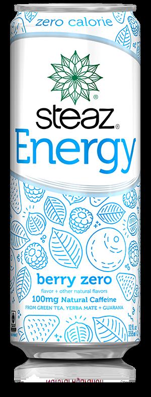 Steaz 有机无糖能量饮品(莓果)