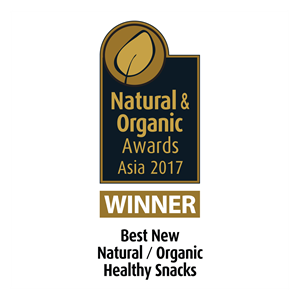 The Winner of Best New Natural / Organic Healthy Snacks