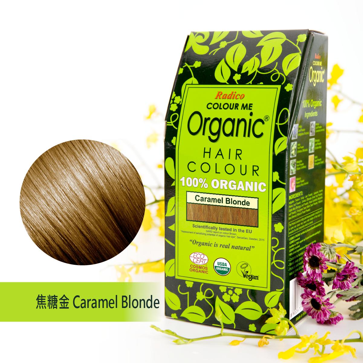 Radico Organic Hair Colour - Caramel Blonde