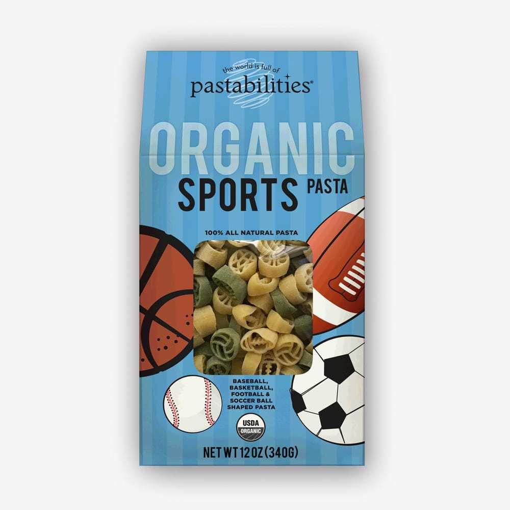 The Pasta Shoppe Organic Sports Pasta (12oz)