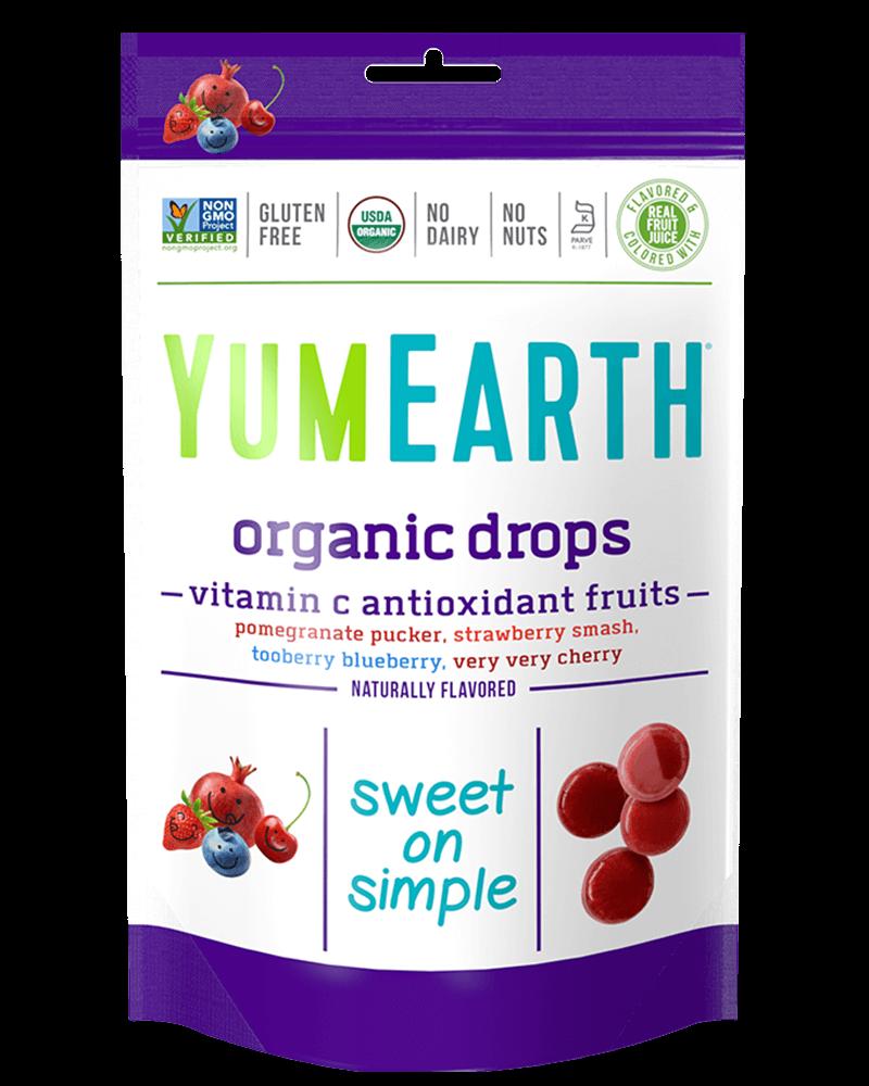 YumEarth Organic Vitamin C Drops Anti-Oxifrutis (93.6g)